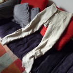Thorsberghose in Arbeit, Leinen ungebleicht