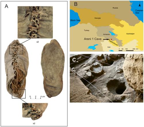 Ältester bisher gefundener Schuh