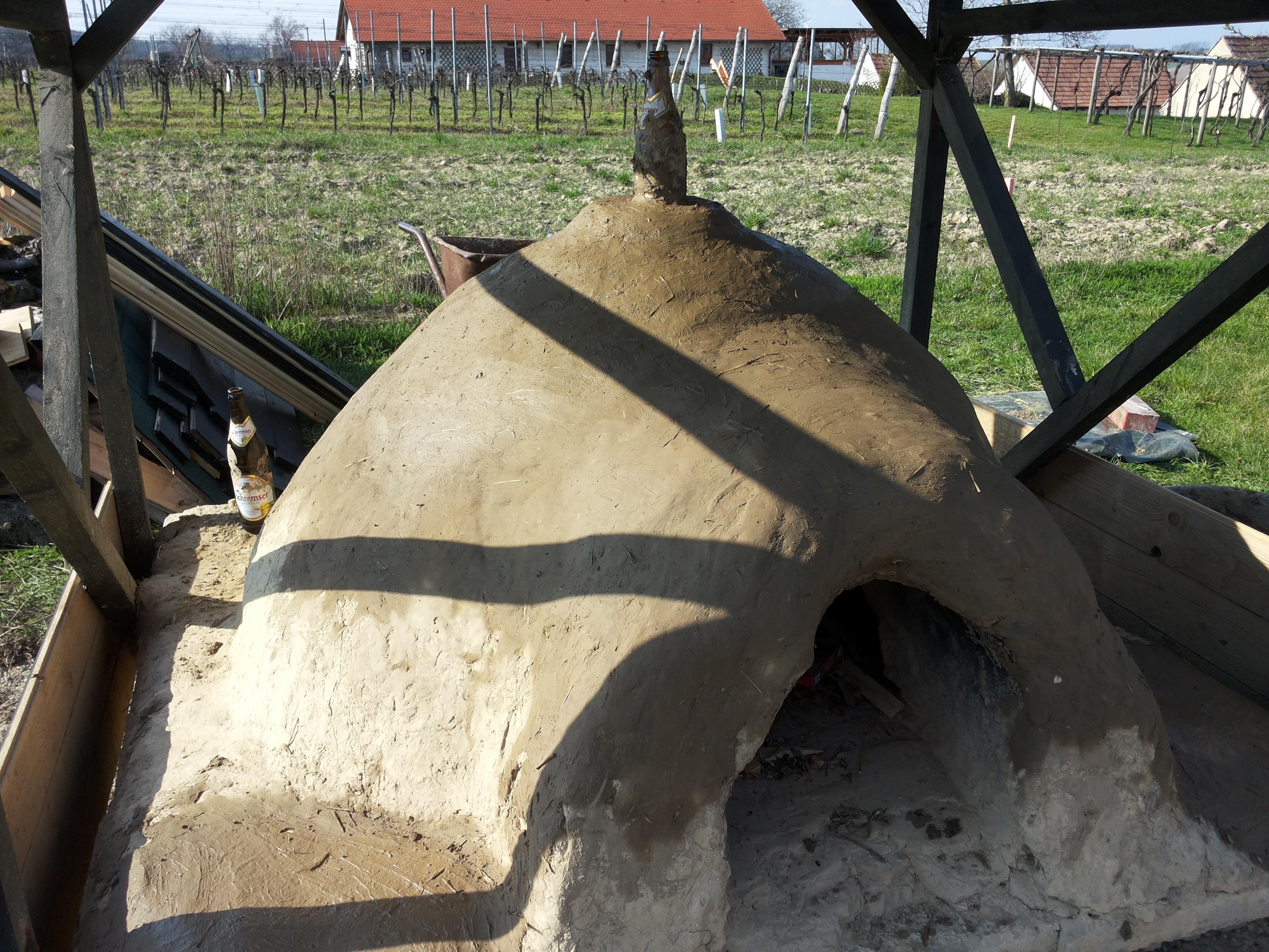 Lehmofen in Höflein