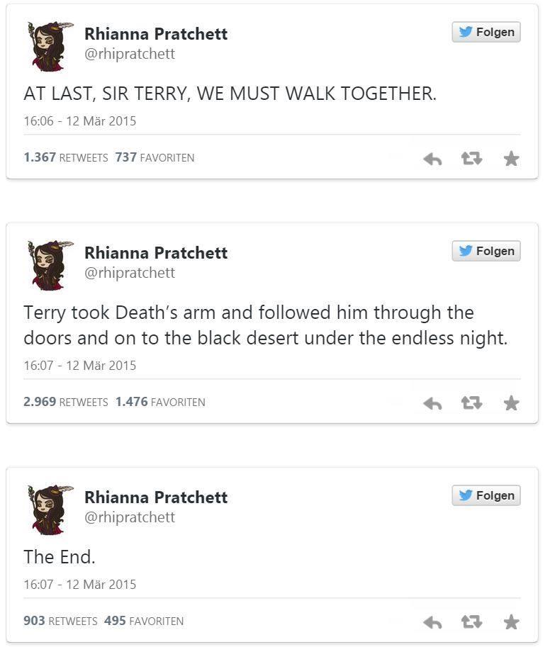 Nachruf Rhianna Pratchett